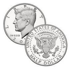 1/2 Dollar Kennedy 2016 neuve