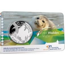 Pays-Bas 2016 - Coincard Mer des Wadden