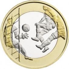 """Finlande 2016 - 5 euro """"Le Football"""""""