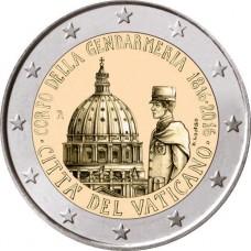 Vatican 2016 - 2 euro commémorative gendarmerie