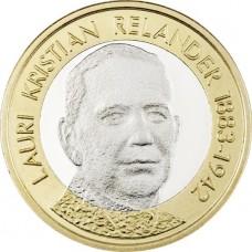 Finlande 2016 - 5 euro LK RELANDER