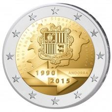 Andorre 2015 - 2 euro commémorative Union douanière