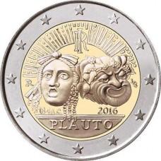 Italie 2016 - 2 euro commémorative Plaute