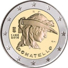 Italie 2016 - 2 euro commémorative Donatello