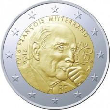 France 2016 - 2 euro commémorative Francois Mitterrand