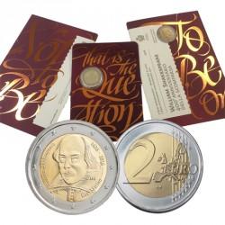 Saint Marin 2016 - 2 euro Shakespeare