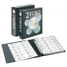 Album pré-imprimé 2 euro commémoratives : tous les pays EURO (chronologique jusqu'en Italie 2014))