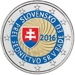 Slovaquie 2016 - 2 euro commémorative UE en couleur