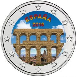 Espagne 2016 - 2 euro commémorative SEGOVIA en couleur