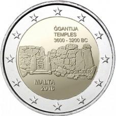 Malte 2016 - 2 euro Temple de Ggantija