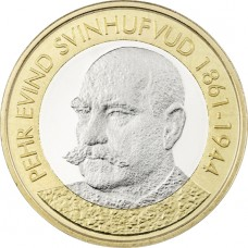 Finlande 2016 - 5 euro PE SVINHUFVUD