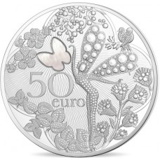 VAN CLEEF & ARPELS - 50 euro Argent BE