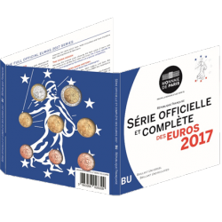 France 2017 - Coffret euro BU de la collection des Coffrets Brillant Universel