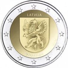 lettonie 2016 - 2 euro commémorative blason