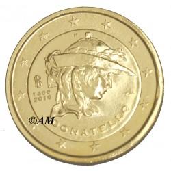 Italie 2016 - 2 euro commémorative dorée à l'or fin 24 carats Donatello