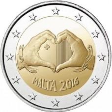 Malte 2016 - 2 euro Amour