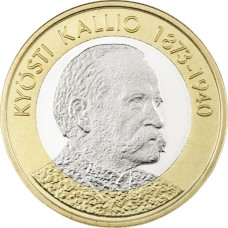 Finlande 2016 - 5 euro K. KALLIO