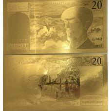 20 Francs - Debussy - avec fil - 1980-1997 - Belle qualité