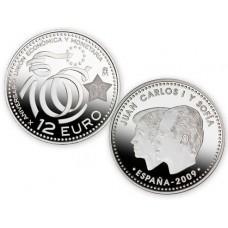 espagne-2009-12-euro-anniversaire-de-l-euro-en-argent