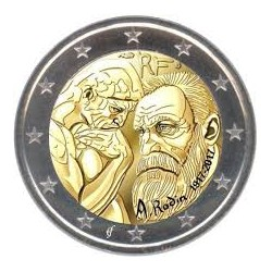 France 2017 - 2 euro commémorative Rodin