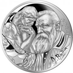 France 2017 - 10 euro argent Rodin