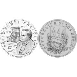 Saint Marin 2012 - 5 euro Argent