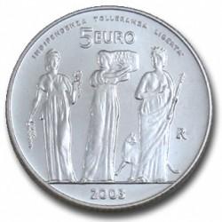 Saint Marin 2003 - 5 euro Argent