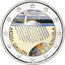 Finlande 2015 - 2 euro commémorative Gallen-Kallela en couleur