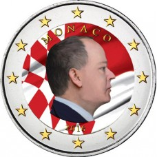Monaco 2016 - 2 euro en couleur