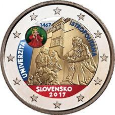 slovaquie 2017 - 2 euro commémorative Université en couleur