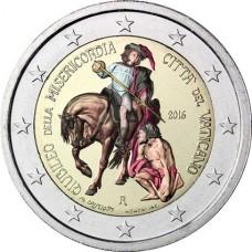 Vatican 2016 - 2 euro commémorative jubilé en couleur