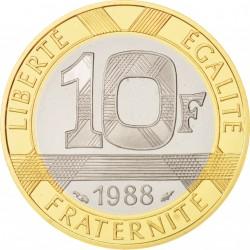 Dix Francs Génie de la Bastille