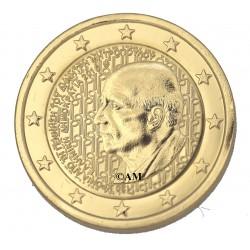 Grèce 2016 - 2 euro Mitropoulos dorée or fin 24 carats
