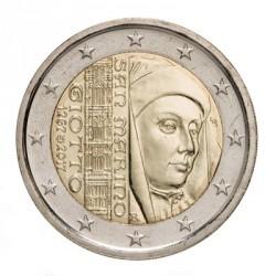 Saint-Marin 2017 - 2 euro commémorative Giotto
