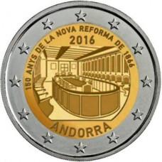 Andorre 2016 - 2 euro commémorative réforme