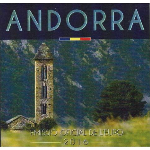 Andorre 2016 - Coffret BU