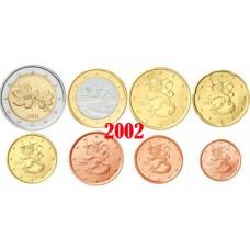 Finlande 2002 - Série complète euro neuve