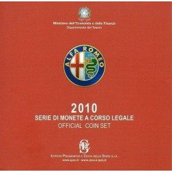 Italie 2010 - Coffret euro BU