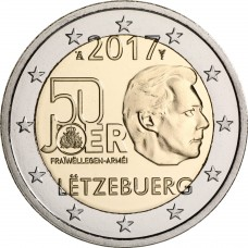 Luxembourg 2017 - 2 euro commémorative