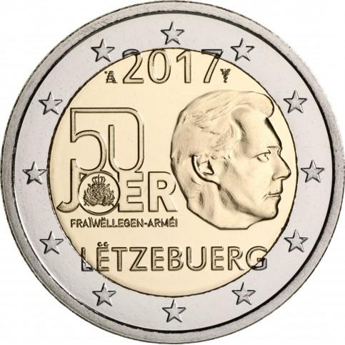 Luxembourg 2017 - 2 euro commémorative
