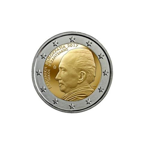 Grèce 2017 - 2 euro commémorative Nikos Kazantzakis