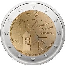 Portugal 2017 - 2 euro commémorative Police