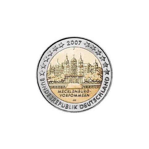 ALLEMAGNE 2007 - 2 EUROS COMMEMORATIVE