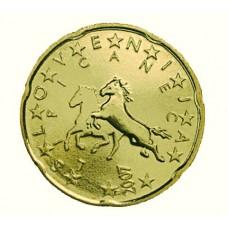Slovenie 20 Cents  2008