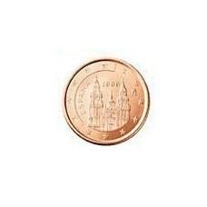 Espagne 5 Cents  2008