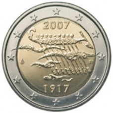 FINLANDE 2007 - 2 EUROS COMMEMORATIVE