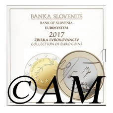 Slovenie 2017 - Coffret Euro BU
