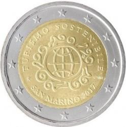 Saint Marin 2017 - 2 euro commémorative année du tourisme