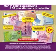 Mon 1er billet euro souvenir à 0€