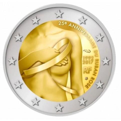 France 2017 - 2 euro commémorative Lutte contre le cancer
